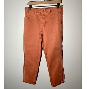 Anthropologie Relaxed Fit Chino Pants